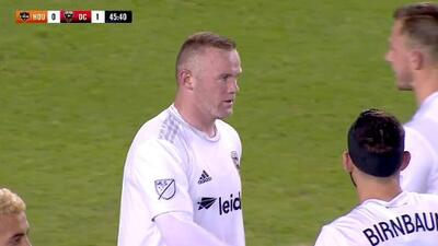 Wayne Rooney cierra la pinza y la manda a guardar, Houston Dynamo 0-1 DC United
