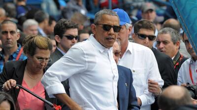 ¿Debe el presidente Obama volver de Cuba tras los atentados en Bruselas?