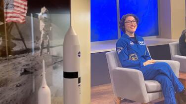 """""""Me costaba trabajo sostener mi propia cabeza"""":  habló la astronauta que pasó 328 días en el espacio"""