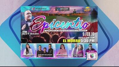 'Epicentro', un concierto para todos desde El Morro
