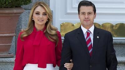 Angélica Rivera confirma que se divorcia del expresidente de México Enrique Peña Nieto