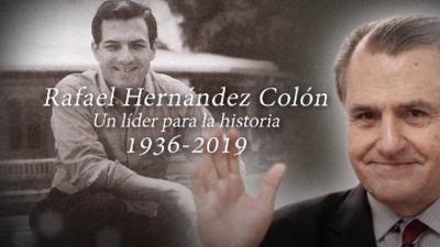 Rafael Hernández Colón es recordado así por sus compañeros