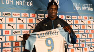 Seis meses para volver a brillar: Marsella presentó a Balotelli como su nuevo refuerzo