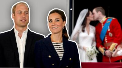 Separados, el príncipe William y Kate Middleton conmemoran ocho años de matrimonio