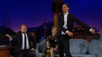 Zlatan Ibrahimović baila 'Floss Dance' para demostrar sus talentos ocultos en popular show de TV