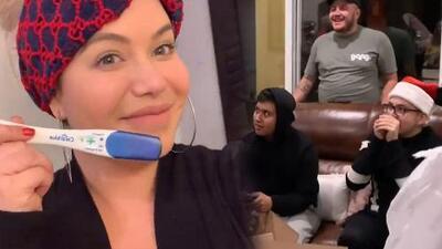 """Esta fue la reacción de la familia de Chiquis Rivera cuando les dijo """"estoy embarazada"""""""