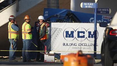 Las demandas y antecedentes de las constructoras encargadas del puente que se cayó en Miami