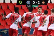 El Mónaco sorprende al PSG y aprieta la Liga en Francia