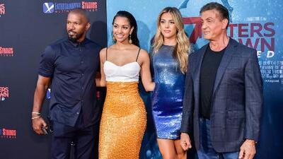 Las hijas de Sylvester Stallone y Jamie Foxx le siguen los pasos a sus famosos padres