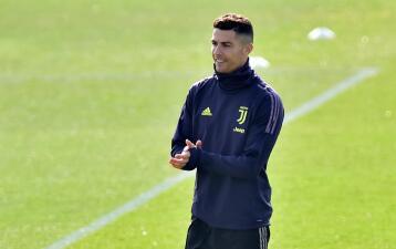 Optimismo de Cristiano Ronaldo con Juventus en su reto en casa del Atlético en Champions