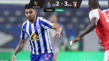 Asistencia del Tecatito no evita eliminación del Porto de la Copa
