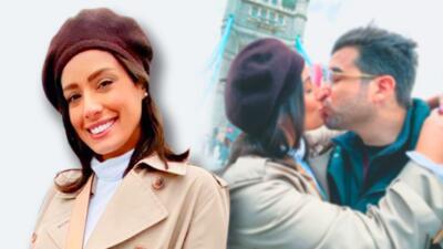 Las románticas fotos de Aleyda Ortiz en su viaje de cumpleaños por Londres