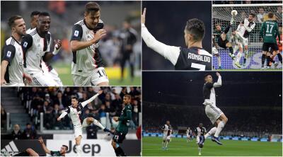 Cristiano redondea su semana con gol en la victoria ante Lecce