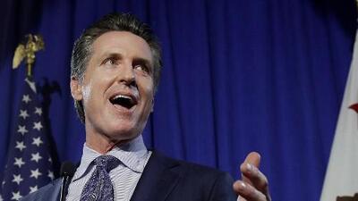 Primarias en California consolidan a Gavin Newsom como favorito para ganar la gobernación en noviembre