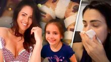 El covid-19 no le impidió a Luz Elena festejar junto a su hija el Día de Reyes