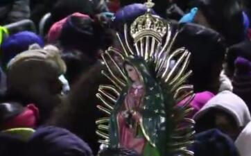 Así se vivieron las Mañanitas a la Virgen de Guadalupe desde el Cerrito del Tepeyac en Chicago