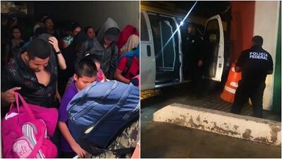 Denuncian secuestros masivos de migrantes en México