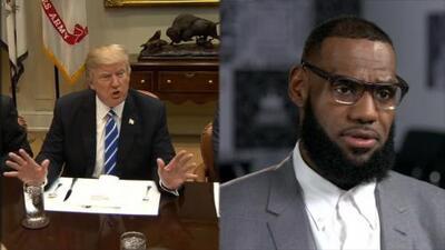 Trump lanza dos insultos en un solo tuit: contra LeBron James y Don Lemon de CNN