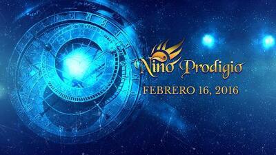 Niño Prodigio - Virgo 16 de febrero, 2016