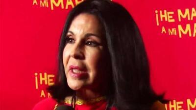 María Conchita Alonso encuentra el lado positivo a la retención de los periodistas de Univision en Venezuela