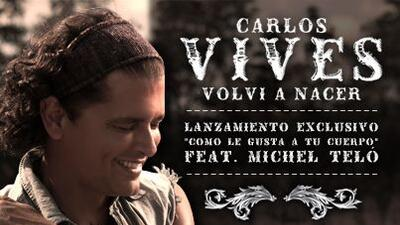 Carlos Vives estrena su nuevo disco en Univisión Radio en exclusiva