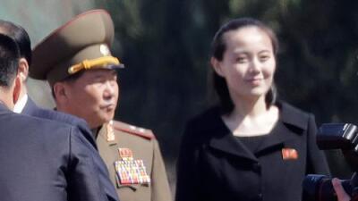 La visita sin precedentes de la hermana del líder norcoreano Kim Jong Un a Corea del Sur