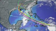 Tormenta tropical Laura sigue acercándose a República Dominicana y ha extendido la zona de lluvias