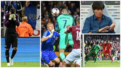 Uefa Fecha 6 : el fiasco de Francia, el agarrón ítalo-español y el picnic de Alemania