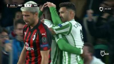 ¡GOOOL! Giovani Lo Celso anota para Real Betis