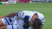 ¡Mala suerte! Christian Tabó sale por lesión y entre Santi Ormeño