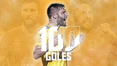 Gignac anota su gol 100 con Tigres