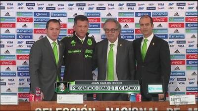 Juan Carlos Osorio presentado como DT de México: ''Agradezco a Femexfut por la confianza''