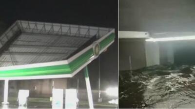 Imágenes de la devastación que está dejando a su paso el huracán Florence