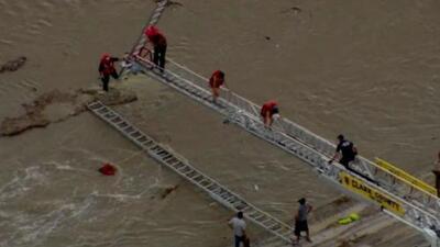 Fuertes lluvias en Las Vegas causan gran inundación