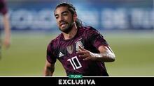 Rodolfo Pizarro agradece la confianza del Tata en el Tri