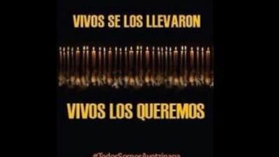 Lamentos por Iguala en las redes sociales