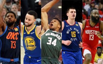 Estos son los jugadores que integran el equipo ideal de la NBA de la campaña 2018-19