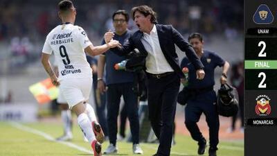 Pumas 2-2 Morelia - RESUMEN Y GOLES – Jornada 10 - Liga MX Clausura 2019