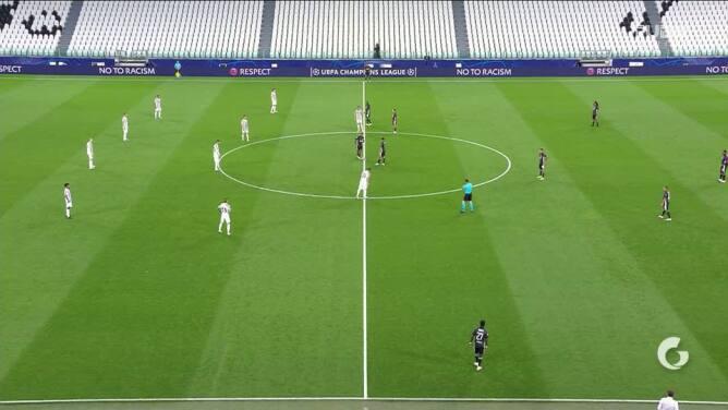 Highlights: Lyon at Juventus on August 7, 2020