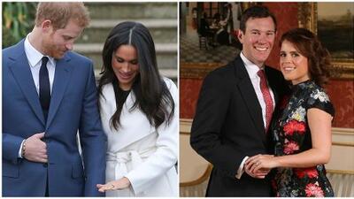 El príncipe Harry se quedó corto: el anillo que recibió su prima es mucho más caro que el de Meghan Markle