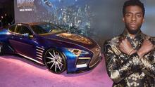 Tributo a Chadwick Boseman: los carros de la Pantera Negra y el Rey T'Challa