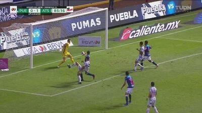 ¿Con qué definió? Barceló le anota al Puebla y acaba con los bostezos en el Cuauhtémoc