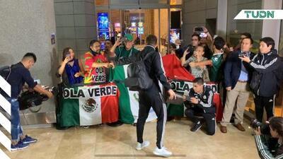 El Tri llega a Panamá arropado por aficionados mexicanos
