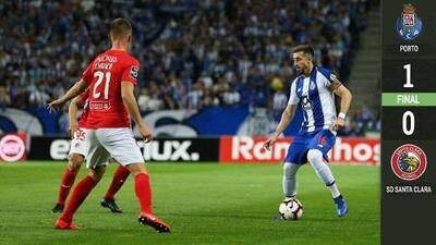 Porto retoma la cima de Portugal con Herrera de titular y Corona de cambio