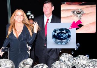 Mariah Carey tiene el anillo de compromiso más grande del mundo