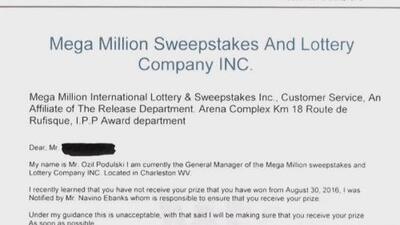 Alerta en Atlanta por estafa que le dice a la víctima que ha ganado la lotería