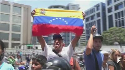 Venezuela battle for freedom continues to escalate