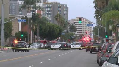 Reportan una balacera y amplio operativo policial en un hogar de jubilados de Long Beach