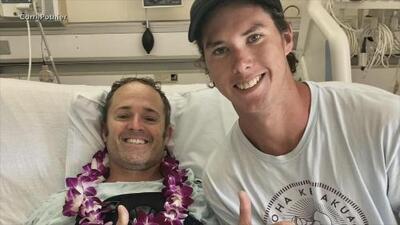 Cómo un accidente aéreo unió a estos dos extraños en Hawaii