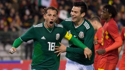 Andrés Guardado y el 'Chucky' Lozano hablaron del duelo ante Alemania en el Mundial de Rusia 2018